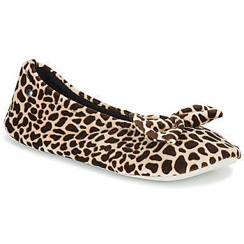 Shoes Women Slippers Isotoner 95991 Brown