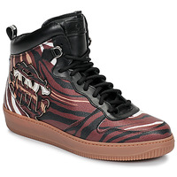 Shoes Men High top trainers Roberto Cavalli 8343 Multicolour