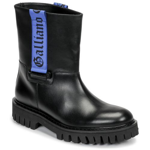 John Galliano 8560 Black / Blue - Fast