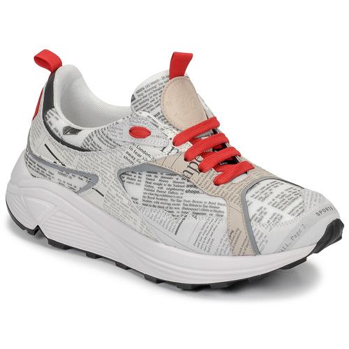 Shoes Men Low top trainers John Galliano 8516 Grey