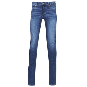 material Men slim jeans Jack & Jones JJIGLENN Blue / Dark