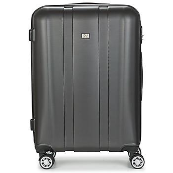 Bags Hard Suitcases David Jones CHAUVETTO 72L Grey