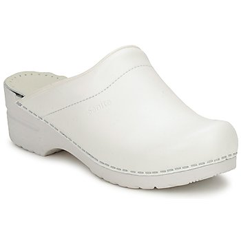 Shoes Women Clogs Sanita SONJA OPEN White