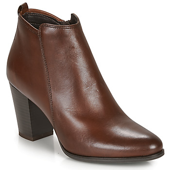 Shoes Women Ankle boots André MAGDA Brown