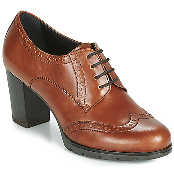 Shoes Women Derby shoes André MAESTRO Cognac