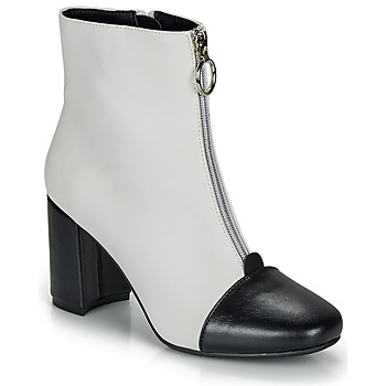 Shoes Women Ankle boots André LAOSA White
