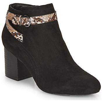 Shoes Women Ankle boots André EVA Black