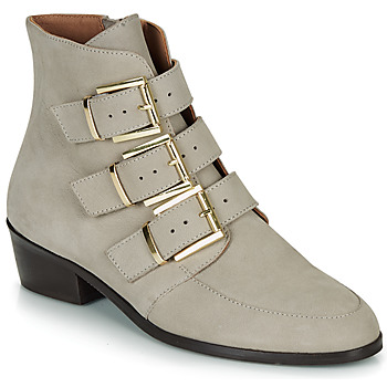 Shoes Women Mid boots André ERNA Grey