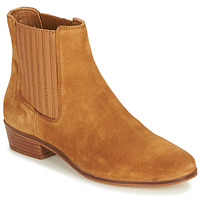 Shoes Women Mid boots André ECUME Camel