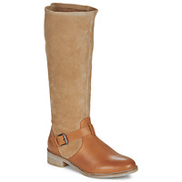 Shoes Women Boots André ELIA Camel