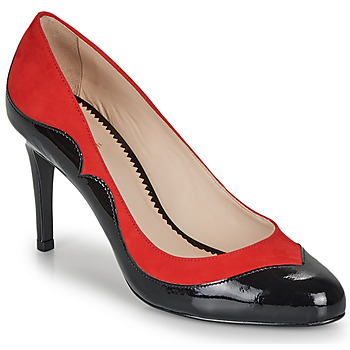Shoes Women Court shoes André LA GALANTE Red