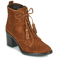 Shoes Women Ankle boots André MAGICIENNE Camel