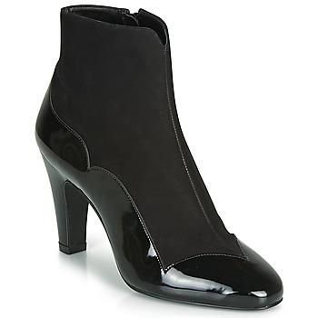 Bourne England black studded high heels sz 38