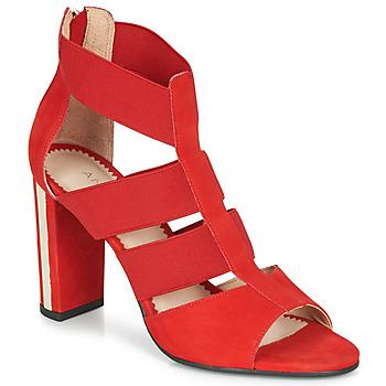 Shoes Women Sandals André LA DETERMINEE Red