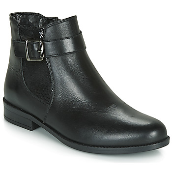 Shoes Women Mid boots André ESMERALDA Black