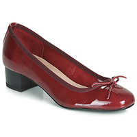 Shoes Women Ballerinas André POEME Red