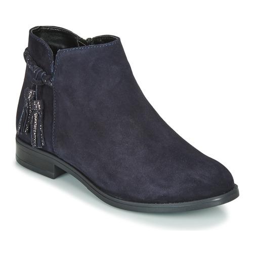 Shoes Women Mid boots André MILOU Marine