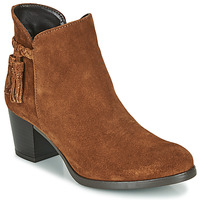Shoes Women Ankle boots André MARYLOU Cognac