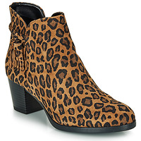 Shoes Women Ankle boots André MARYLOU Leopard