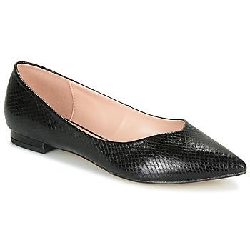 Shoes Women Ballerinas André LISERON Black / Motif