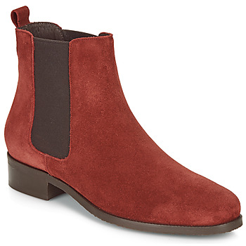 Shoes Women Mid boots André CHATELAIN Red