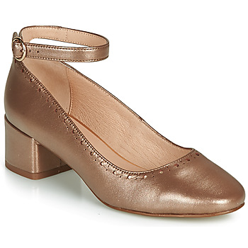 Shoes Women Ballerinas André LAUREATE Gold