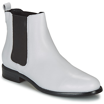 Shoes Women Mid boots André CARAMEL White