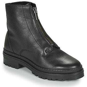 Shoes Women Mid boots André NAIS Black