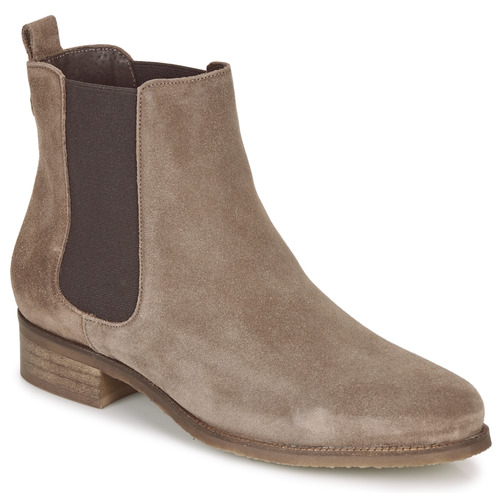 Shoes Women Mid boots André CHATELAIN Taupe