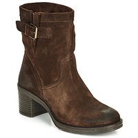 Shoes Women Ankle boots André MANDARINE Brown
