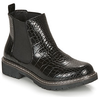 Shoes Women Mid boots André NOVA Black / Motif