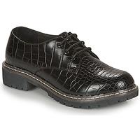 Shoes Women Derby shoes André NEBULEUSE Black / Motif