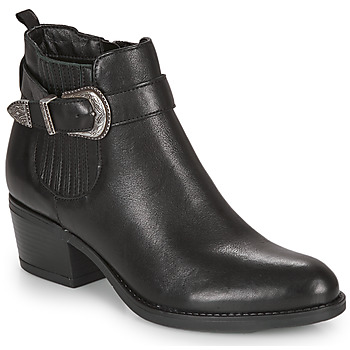 Shoes Women Ankle boots André MADAISY Black