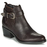 Shoes Women Ankle boots André MADAISY Brown