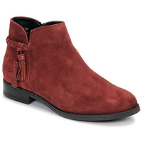 Shoes Women Mid boots André MILOU Red