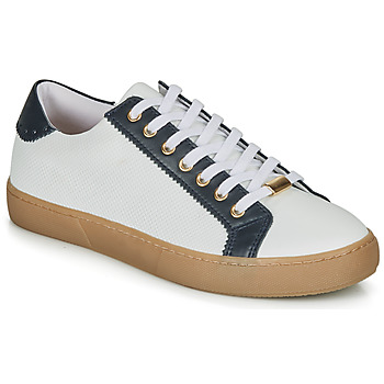 Shoes Women Low top trainers André BERKELEY White / Motif