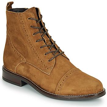 Shoes Women Mid boots André ECLUSE Camel