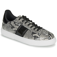 Shoes Women Low top trainers André FRISBEE Grey