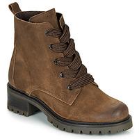 Shoes Women Mid boots André ELISE Brown