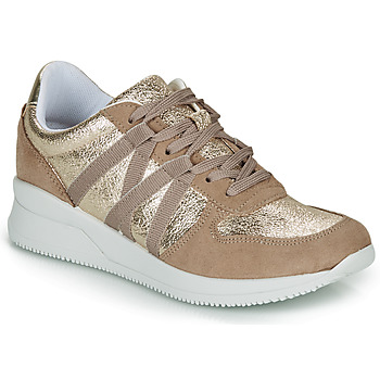 Shoes Women Low top trainers André ALLURE Gold