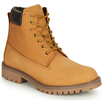 Shoes Men Mid boots André ASPEN Yellow