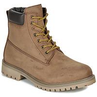 Shoes Men Mid boots André ASPEN Brown