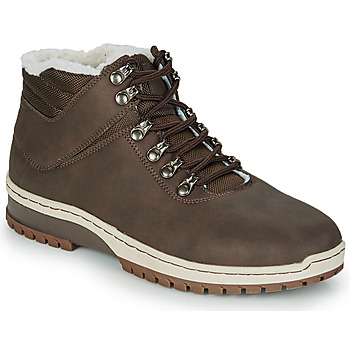 Shoes Men Mid boots André ANAPURNA Brown