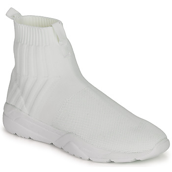Shoes Men High top trainers André LUNAIRE White