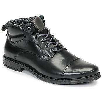 Shoes Men Mid boots André VABON Black