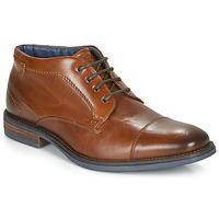 Shoes Men Mid boots André BARTHUS Cognac