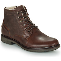 Shoes Men Mid boots André TIGNES Brown