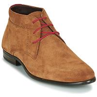 Shoes Men Mid boots André VELEGANT Cognac