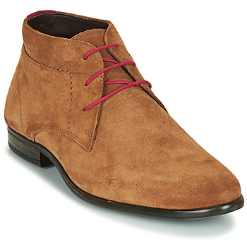 Shoes Men Mid boots André VELEGANT Cognac
