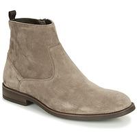 Shoes Men Mid boots André LEMAN Grey